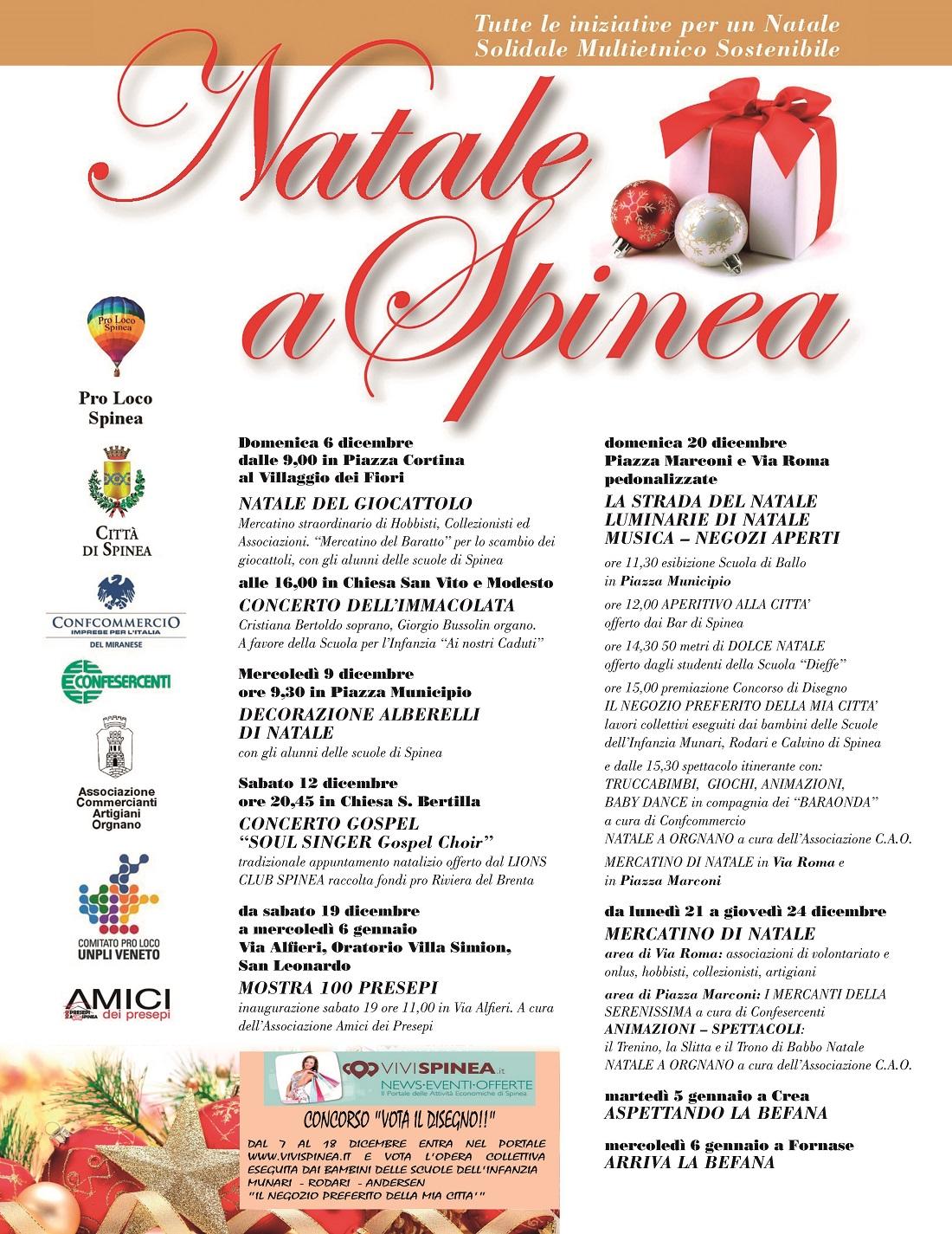 Locandina Natale a Spinea 1100