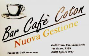 BAR CAFE' COTON